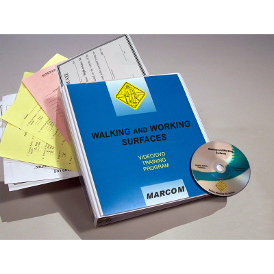 Safety Training: Walking, Working Surfaces Safety Training DVD