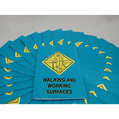 Safety Training: Walking, Working Surfaces Safety Training Employee Booklet