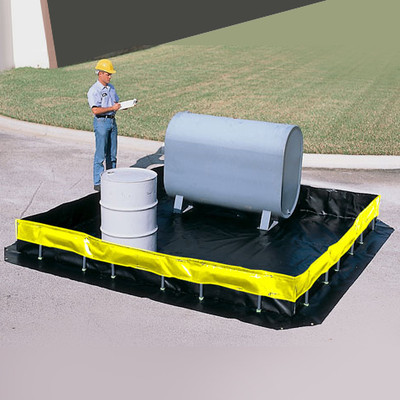 Spill Containment Berms, Collapsible Wall Model, Choose Size