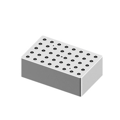 Heating Block, 0.5mL tubes, 40 holes for Digital Dry-Bath HB120-S