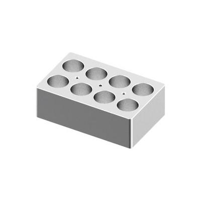 Heating Block, 50mL tubes, 8 holes for Digital Dry-Bath HB120-S