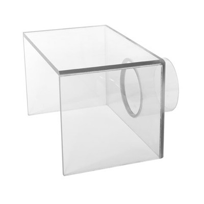 """Fume Extractor Accessory, 8"""" x 5"""" x 5"""" Polycarbonate Hood"""