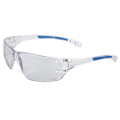 Radnor Cobalt Classic Series Safety Glasses with Clear Lens, case/12