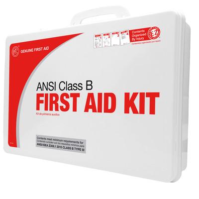 Class B, 2015 ANSI First Aid Kits, case/5