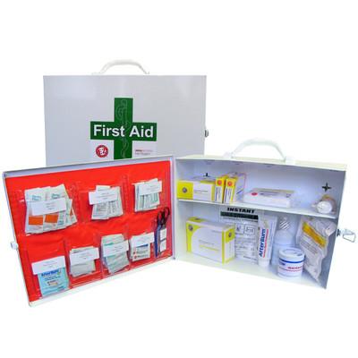 2 Shelf First Aid Cabinet Class B