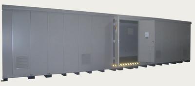 HazMat Drum Storage Building with Optional Fire Rating, 64-Drum