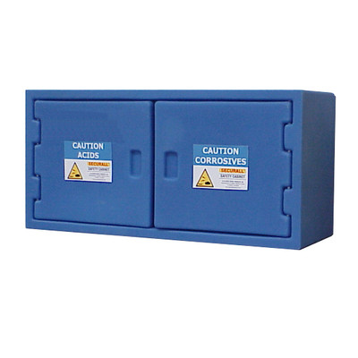 Securall® Poly Acid Safety Cabinet, Small, Nestable, Non-Metallic