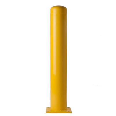 Yellow-Powder Coated Bollard
