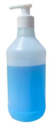 Soap Dispenser, Pump-Top Bottles, HDPE, 500mL, pack/5