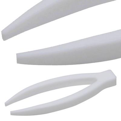 Tweezers, PTFE, Fine Point/ Sharp, 100mm