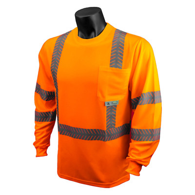 Class 3 Hi-Viz Safety T-Shirt with Rad-Shade, UV Protection, case/24