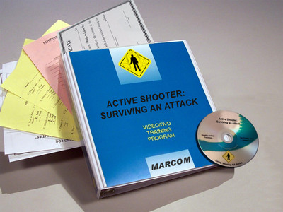 Safety Training: Active Shooter: Surviving an Attack DVD Program