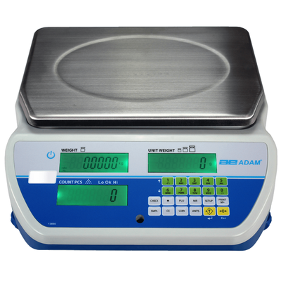 Cruiser Bench Counting Scale, 8lb x 0.0002 to 100lb x 0.001