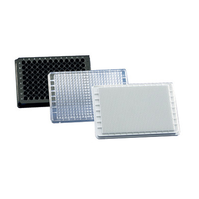 Cell Culture Microplate 96-well Plate, White, cellGrade premium, Trans F-Bottom, Pack/50