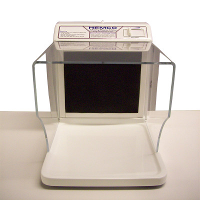"""HEMCO 54010 MicroFlow I Ductless Workstation, 12"""" x 18"""" x 14.5"""