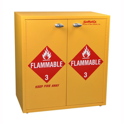 SciMatCo SC8080 Jumbo Stacking Flammables Cabinet