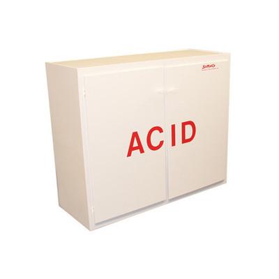 "SciMatCo SC5040 40"" Tall Polypropylene Acid Cabinet"