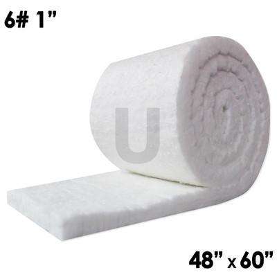 "UniTherm Ceramic Fiber Blanket, 1"" x 48"" x 60"", 6lb"