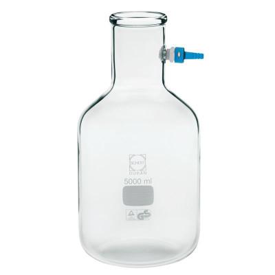 Chemglass CG-1560-07 10L Duran Filtering Flask