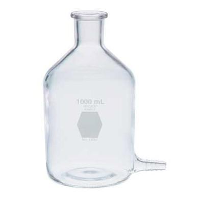 Kimble Reservoir Bottle with Bottom Hose Outlet, 250ml, Case/6