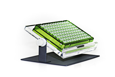 Adjustable 4-1/2 x 6-1/2 x 2-1/4 In Microplate Tilting Stand