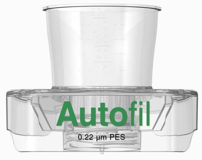 50ml Autofil Sterile 0.2μm High Flow PES Vacuum Filter FUNNEL ONLY, Case/48