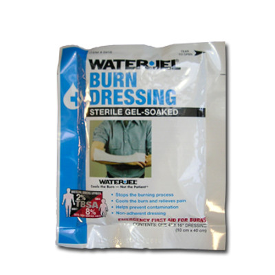 "Water Jel Sterile Burn Dressing, Large 4"" x 16"", case/28"