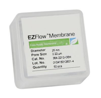 EZFlow® 25mm Nylon Membrane Disc Filter, pack/50