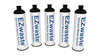 EZwaste Safety Vent Replacement Chemical Exhaust Filter, 5/Pack