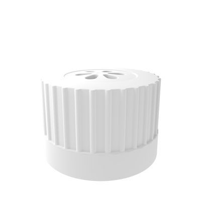 Vented Top VersaCap 38-430mm with 0.2μm PTFE Membrane, 4/Pack