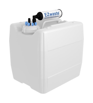 "EZwaste Filter Kit VersaCap S70 6 and 1 ports for 1/4"" HB or 3/8"" HB with 13.5L Container"