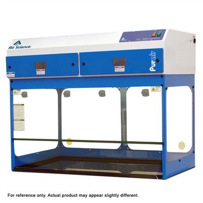 Ductless Fume Hood, 4' Purair 5, Extra Tall, Shallow