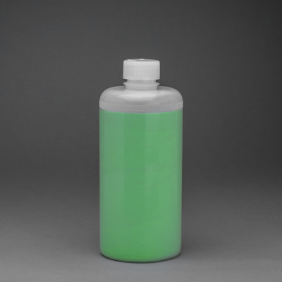 16 oz HDPE Boston Round Lab Bottle, case/48