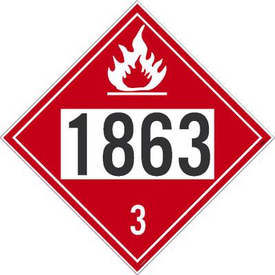 """1863 3 Dot Placard Sign Card Stock, 10.75"""" X 10.75"""""""