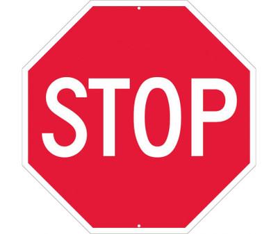 """Stop Sign All Purpose Aluminum, 30"""" X 30"""""""