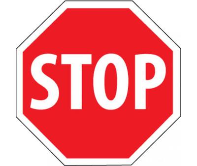 """Stop Sign Heavy Duty Reflective Aluminum, 30"""" X 30"""""""
