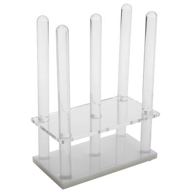 Rodac Plate Rack, Acrylic, for (28) 60-65mm plates