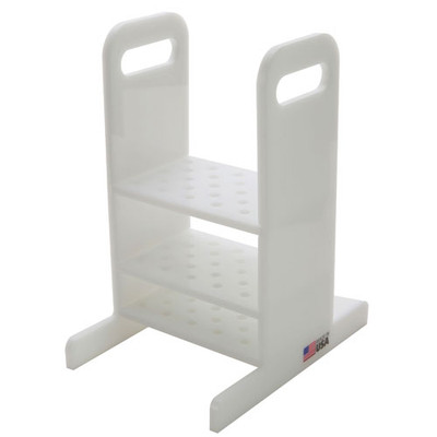Thermometer Rack, HDPE, 25 Holes