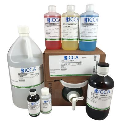Acetic Acid Standard, 1000 ppm CH3COOH, 120mL