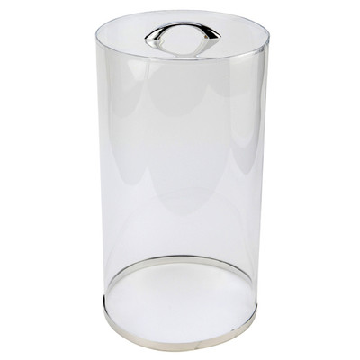 """Cylindrical Microscope Protective Cover, 10"""" D x 18"""" H"""