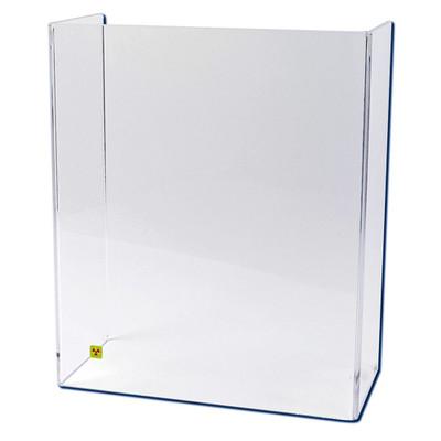 "Large U-Frame Beta Radiation Protection Shield, 24 "" x 20"""