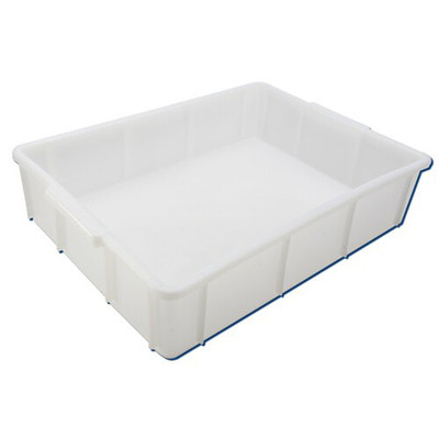"Stackable Deep Tray, HDPE, 17 x 12 x 4"", 10 Liters"
