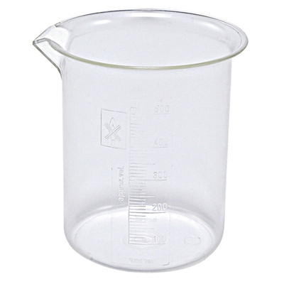 Griffin Beakers, PMP, 500mL, case/36