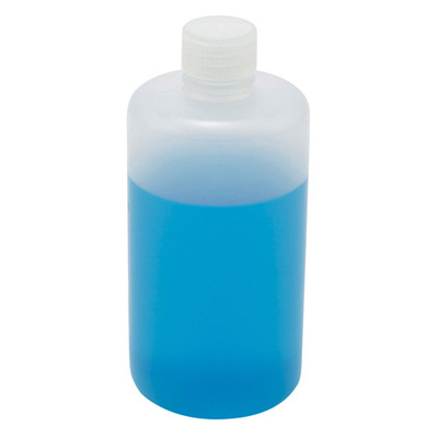 Wide Mouth Lab Bottles, Polypropylene, 64oz, bulk packaged, case/28