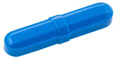 "Octagonal Stir Bars, Blue 5/16 x 1-1/2"", pack/12"