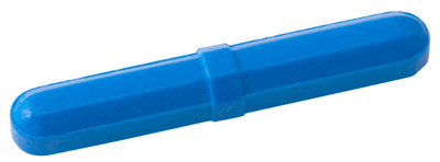 "Octagonal Stir Bars, Blue 5/16 x 2"", pack/12"