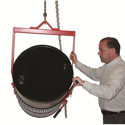 """Tipping Handle Standard Drum Lifter, Dispenser, 8.5""""W x 36""""H x 29""""D"""