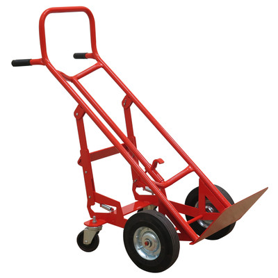 """4-Wheel Drum Cart with Curved Frame, 19.25""""W x 48.5""""""""H x 25""""D"""