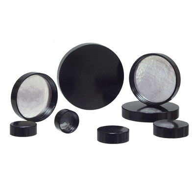 20-400 Black Phenolic Caps with Pulp/Aluminum Foil Liner (Packed in bags of 12), case/576