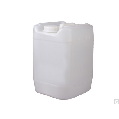 5 Gallon HDPE Square Carboy, 70-400 Opening w/ 22mm Vent, UN Rated, case/48